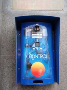Condom dispenser