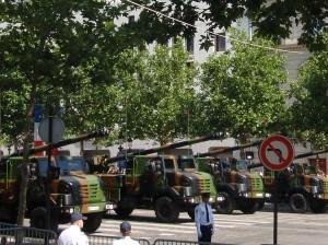 Bastille Parade - artillery