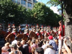 Bastille Parade - cavalry