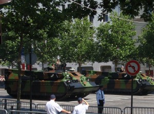 Bastille Parade - tanks