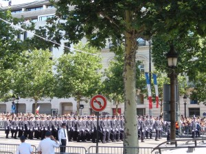 Bastille Parade - troop