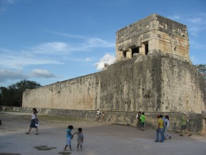 Chichen Itza Great Ball Court Wall