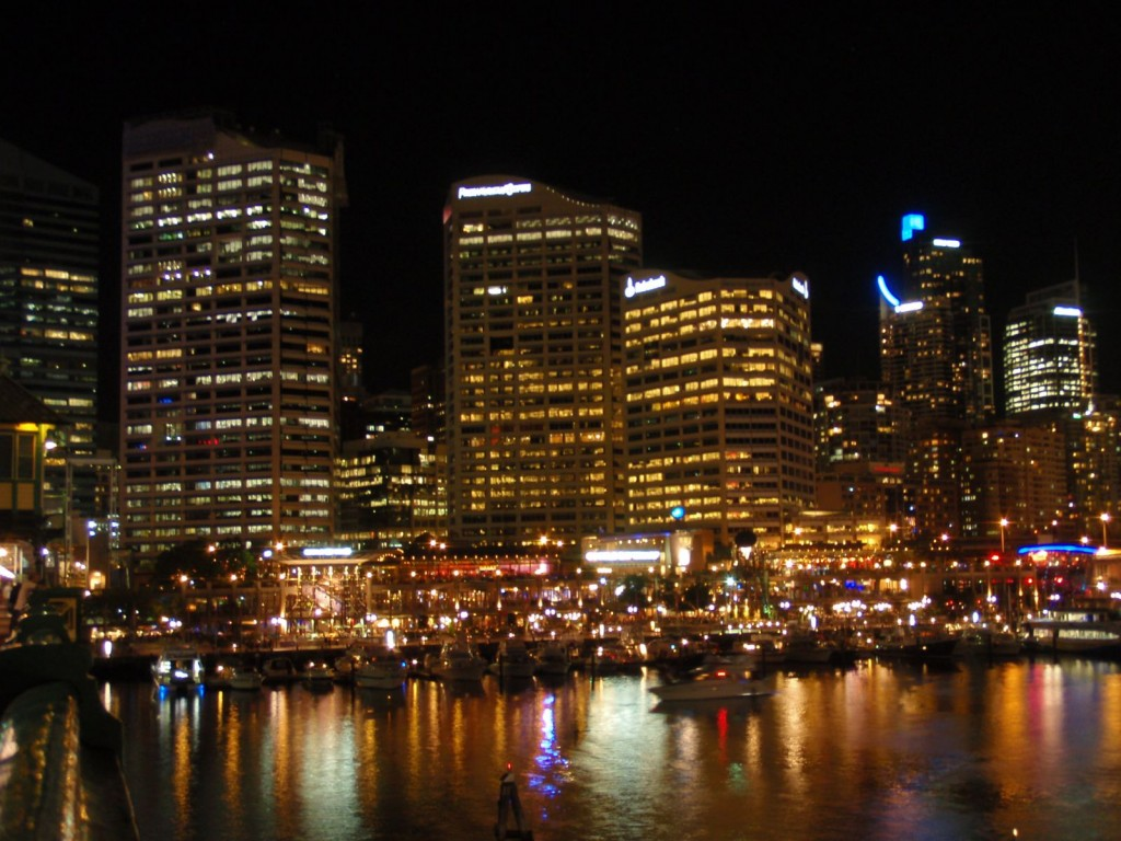 Downtown Sydney from Darling Harbour