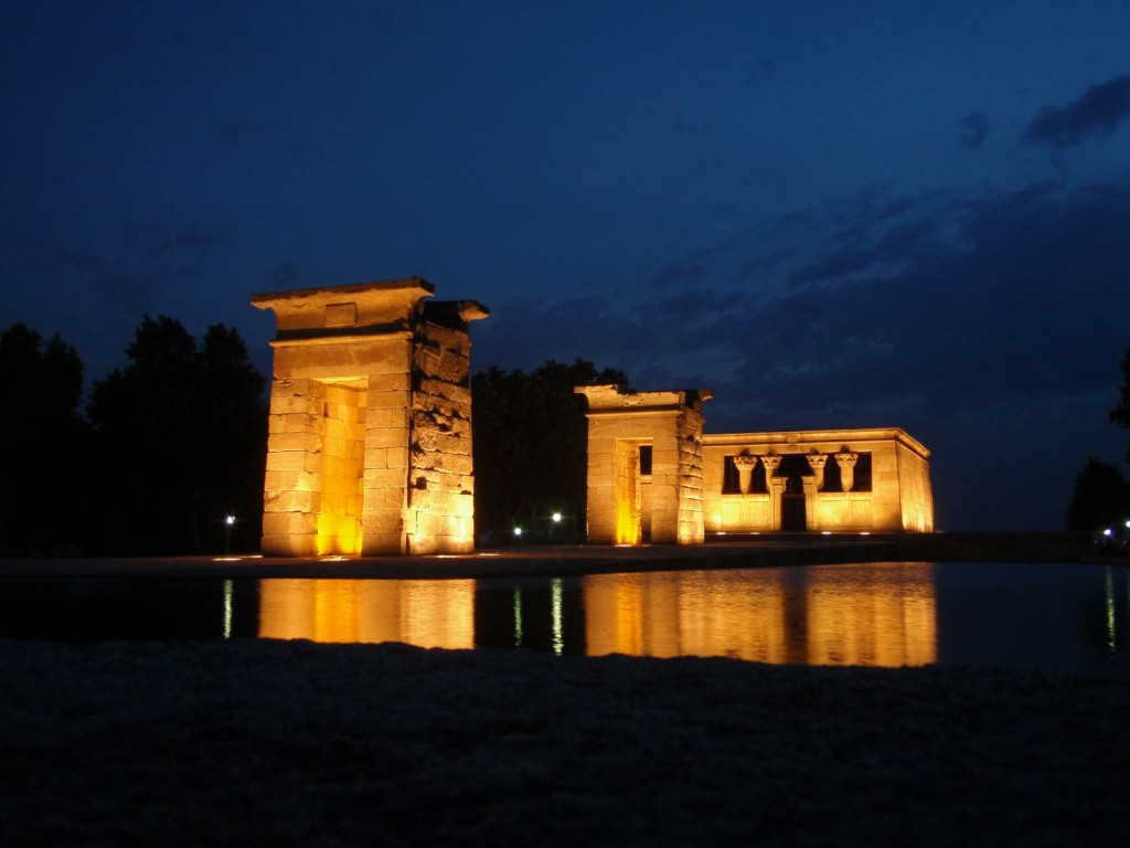 Temple de Debod Madrid