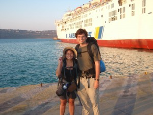 Crossing the Aegean Sea from Chania to Athens - Greece