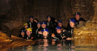 New Zealand - Waitomo - Black Water Rafting