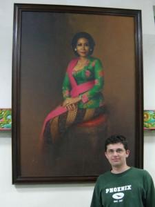 Ryan and Nyonya Suharti