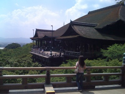 Kiyomizu-Dera, Kyoto, Japan. © Jenna Fransisco.