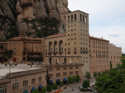 Monastery in Montserrat (near Barcelona). Photo by Vagabond Quest.