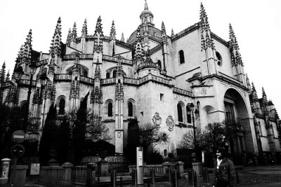 Segovia Cathedral, Spain. © Over Yonderlust.