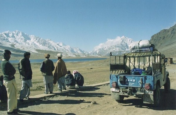Open-air Jeep in Hindu Kush. © Wandering Earl