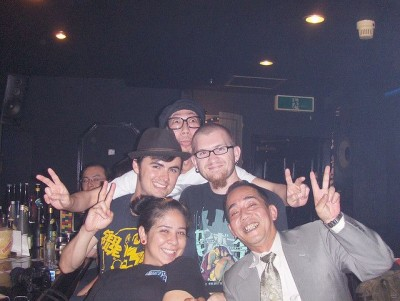 Crazy night with the locals in Osaka. © Over Yonderlust