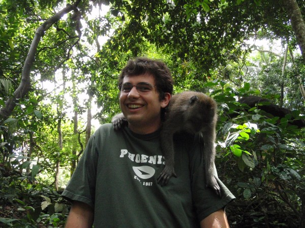 Monkeying around in Bali