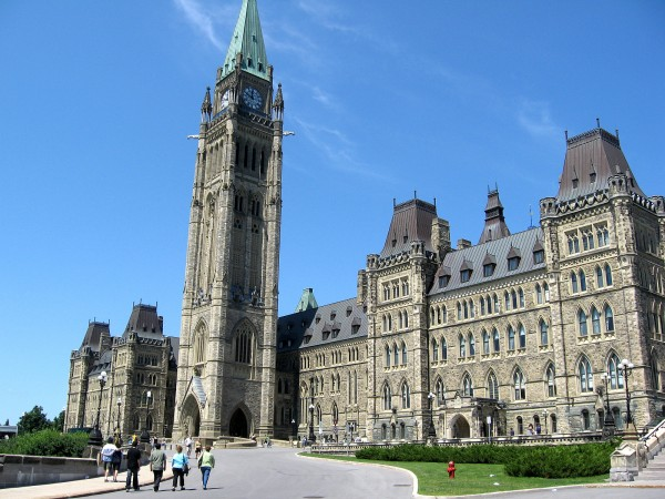Parliament House in Ottawa, Canada