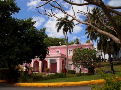 Casa Rosa in Old San Juan, Puerto Rico