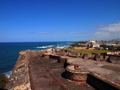 Castillo San Cristobal in Old San Juan, Puerto Rico