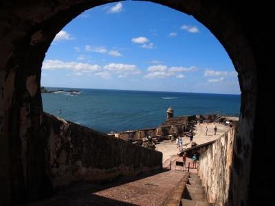 El Morro in Old San Juan, Puerto Rico