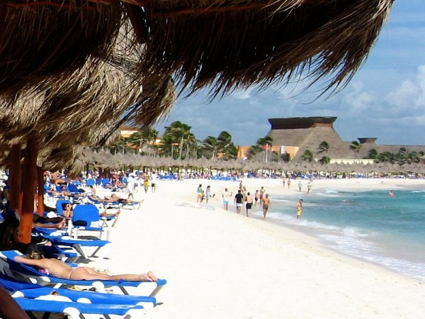 Mexico by Vagabond Quest - Just relaxing on the beach of Playa del Carmen