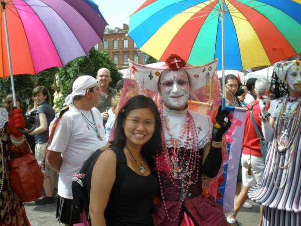 Pride Parade in Toulouse, France
