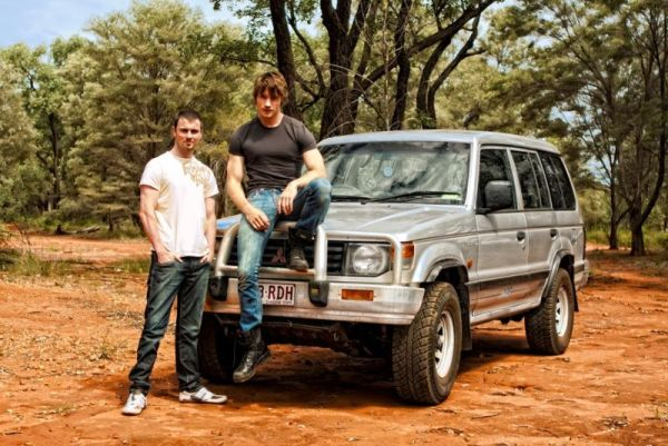 Driving in the outback (Photo © Adventure with Dan)