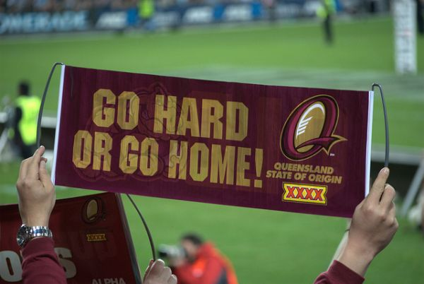 Rugby banner (Photo © There's No Place Like Oz)