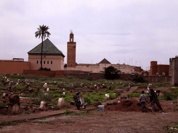 Cemetery - Medina Quarter of Marrakech, Morocco