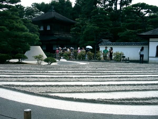 Sand Garden of Ginkaku-ji