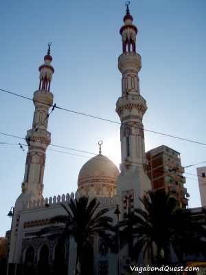 A mosque in Alexandria, Egypt