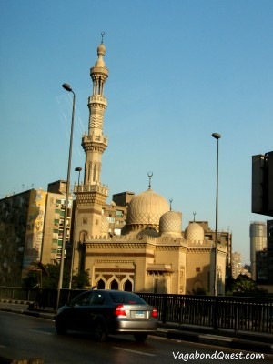 A mosque in Cairo, Egypt