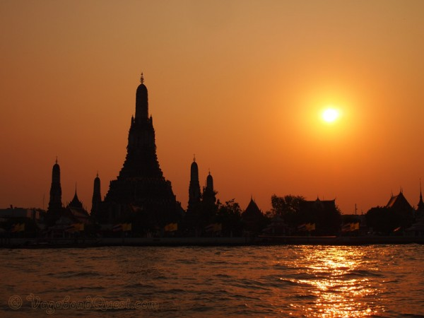 Sunset at Wat Arun, Bangkok