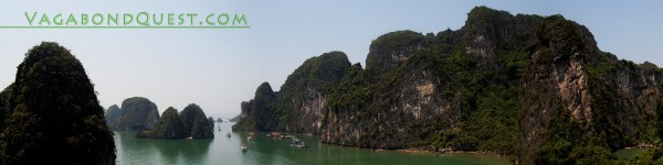 Halong Bay, view from Sung Sot/Surprise Cave