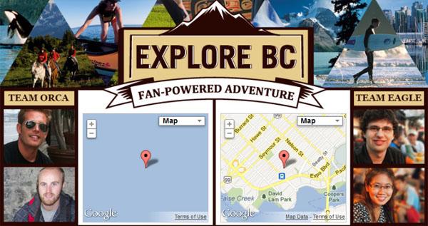 ExploreBC - Click here!