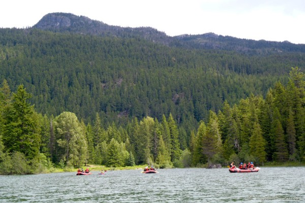 Canada BC Whistler Rafting