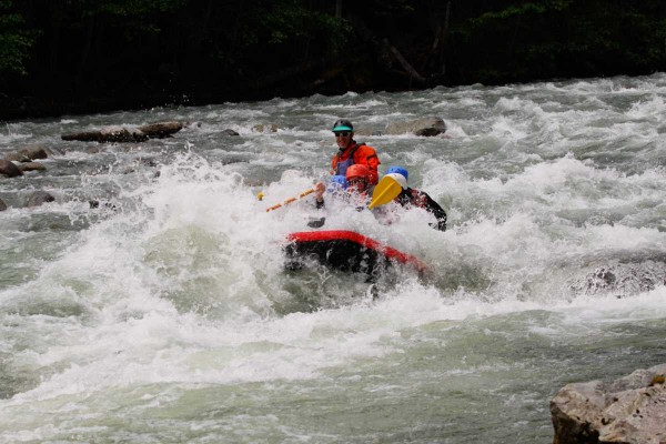 Whistler Wedge Rafting